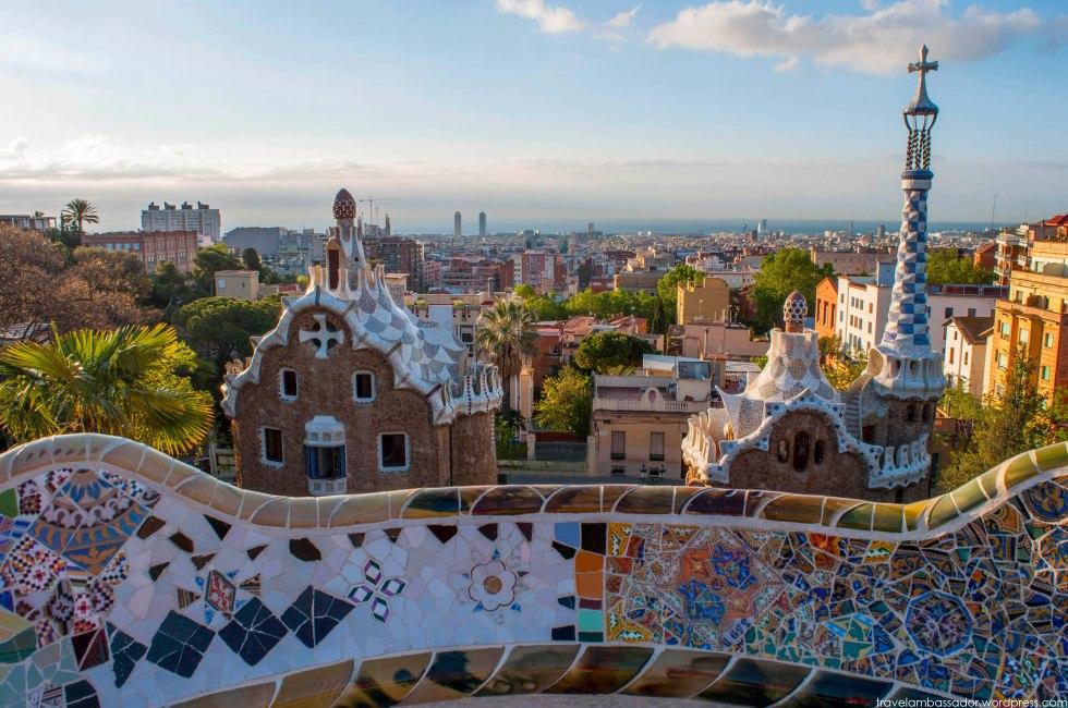 Park Guell Spain Barcelona
